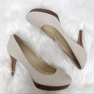 Tahari Sophia Linen Shoes